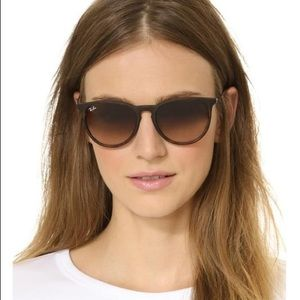 Ray Ban Erika's Tortoise Women Polarized Sunglass